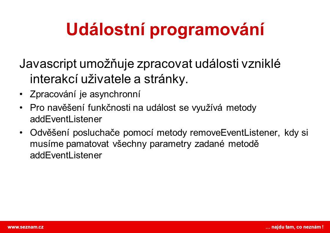 Událostní programování
