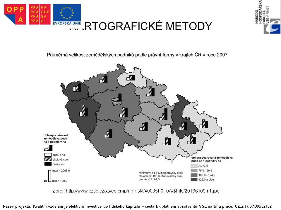KARTOGRAFICKÉ METODY Zdroj: http://www.czso.cz/xs/edicniplan.nsf/t/40005F0F0A/$File/20136109m1.jpg.