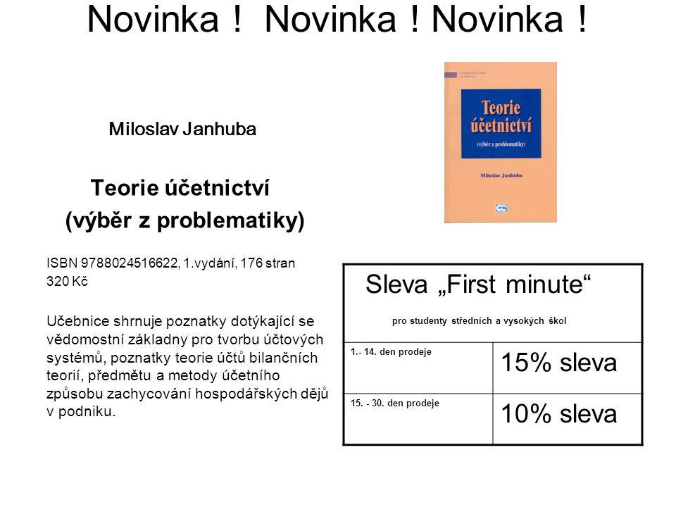 Novinka ! Novinka ! Novinka !