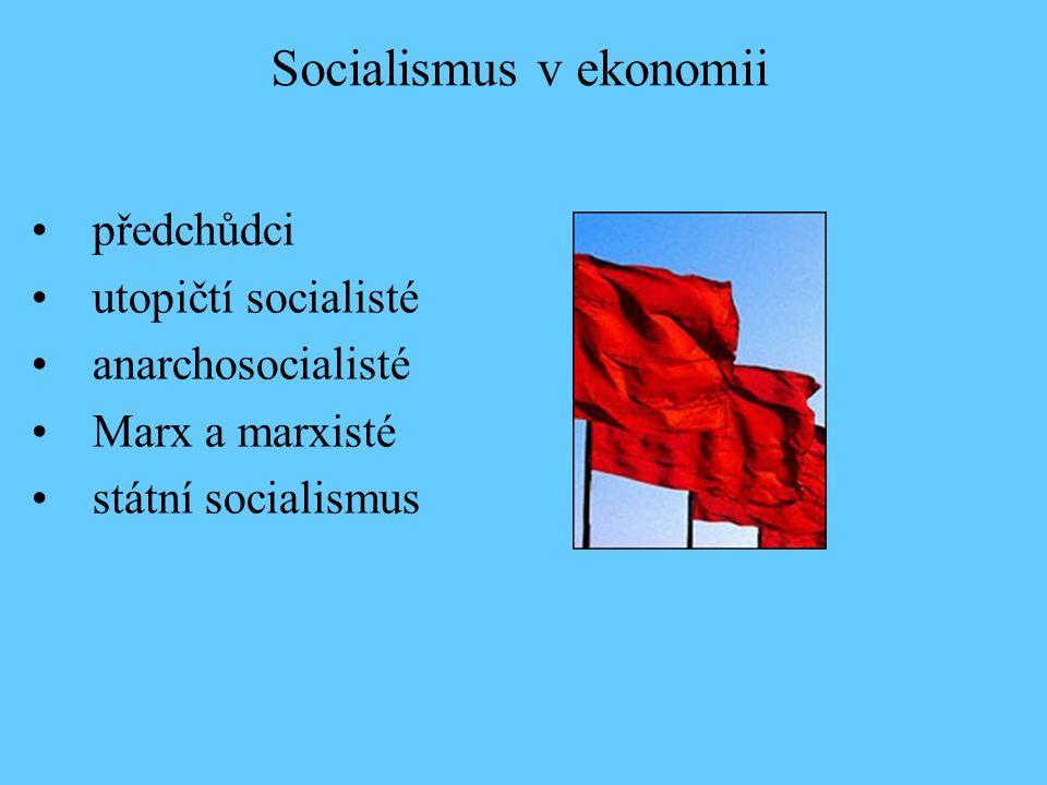 Socialismus v ekonomii