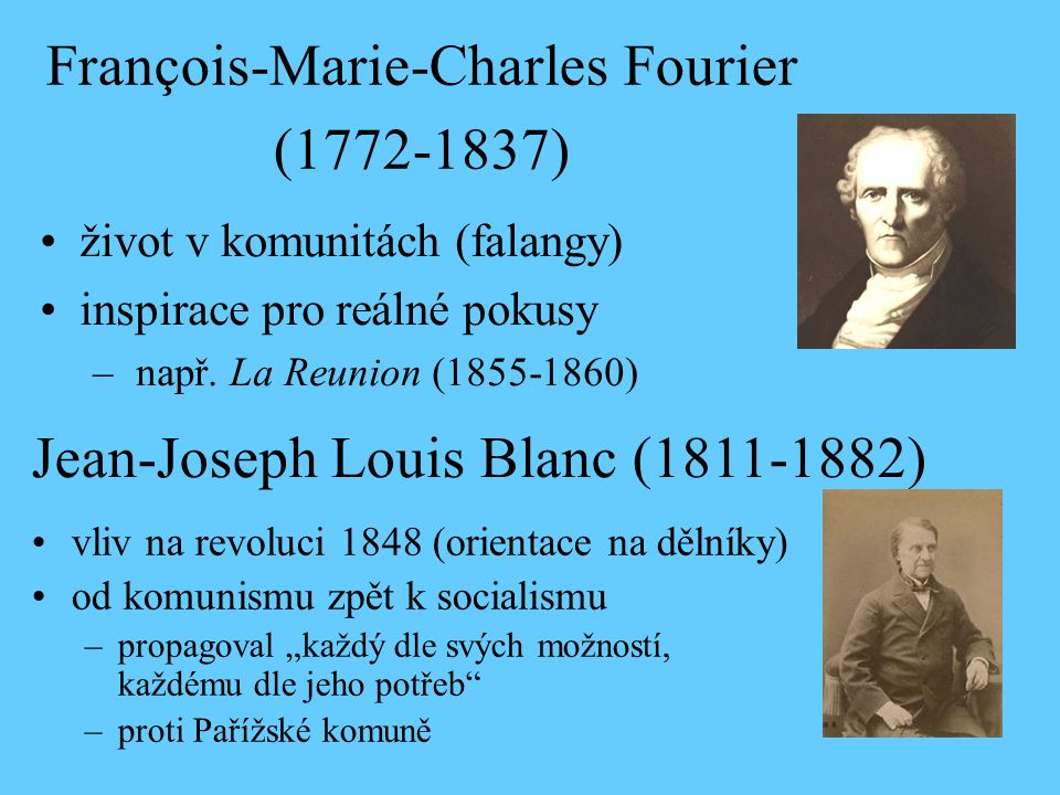 François-Marie-Charles Fourier