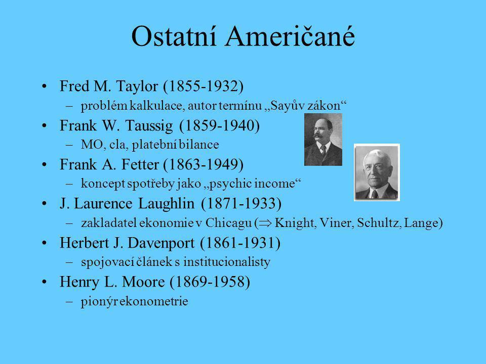Ostatní Američané Fred M. Taylor (1855-1932)