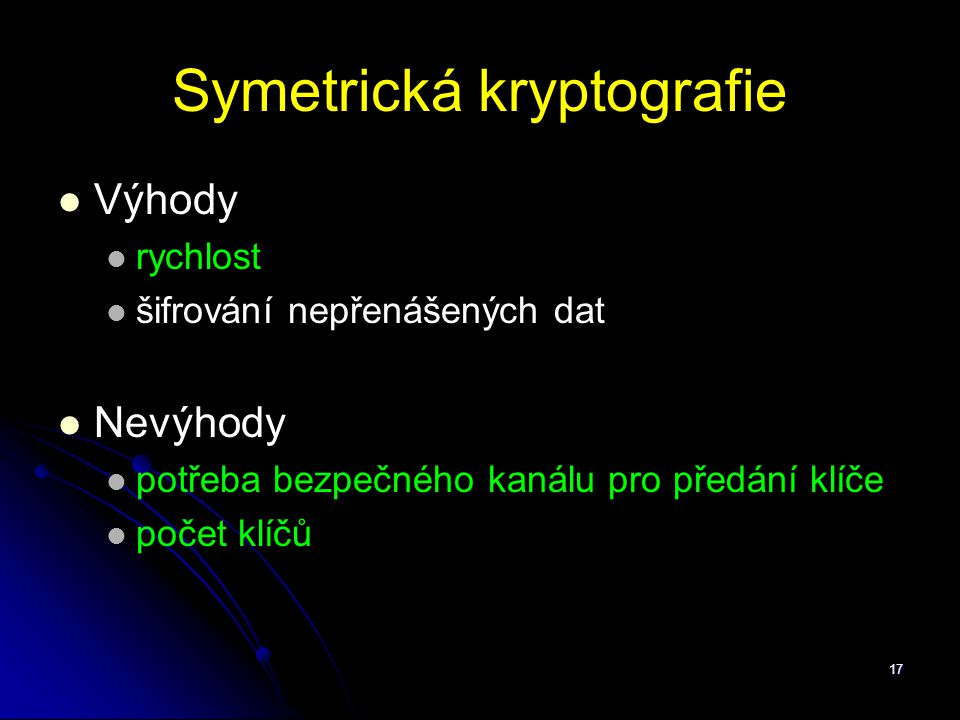 Symetrická kryptografie