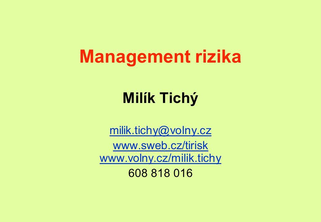 www.sweb.cz/tirisk www.volny.cz/milik.tichy