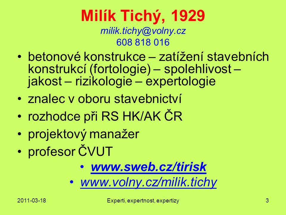 Milík Tichý, 1929 milik.tichy@volny.cz 608 818 016