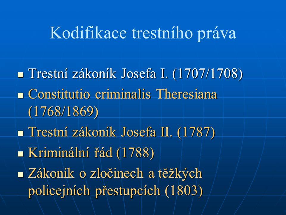 Kodifikace trestního práva