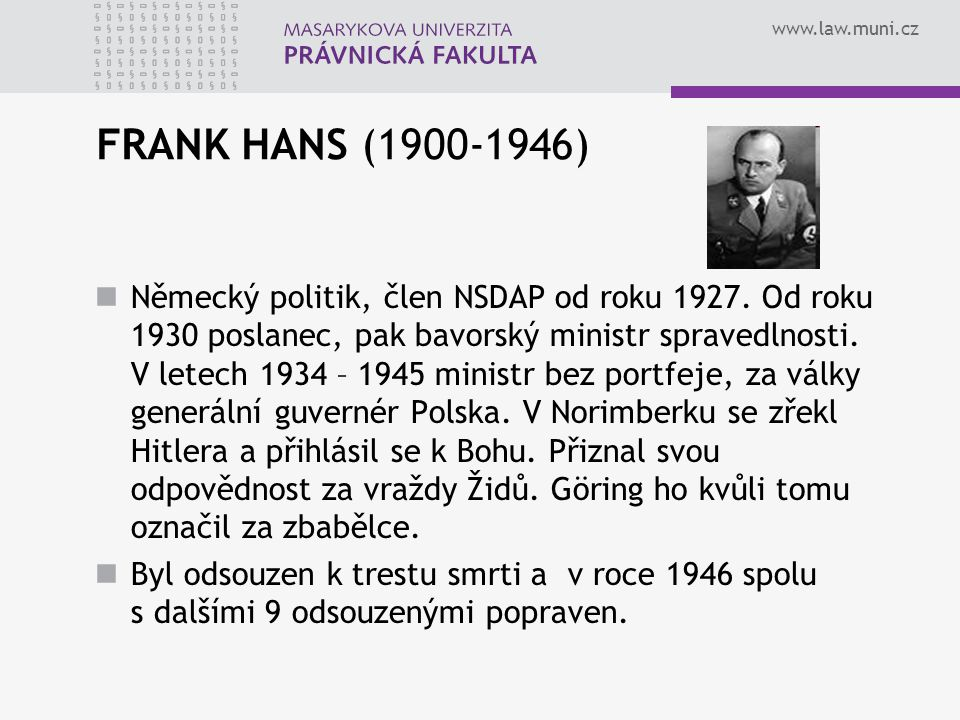 FRANK HANS (1900-1946)