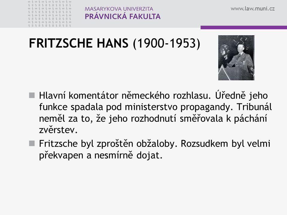 FRITZSCHE HANS (1900-1953)