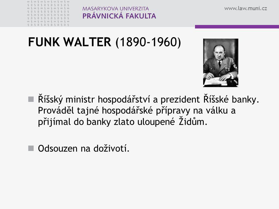 FUNK WALTER (1890-1960)
