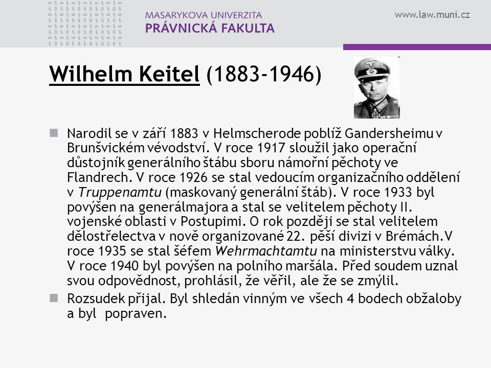 Wilhelm Keitel (1883-1946)