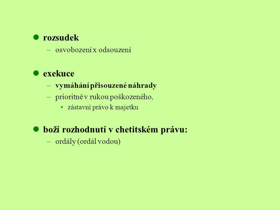 boží rozhodnutí v chetitském právu: