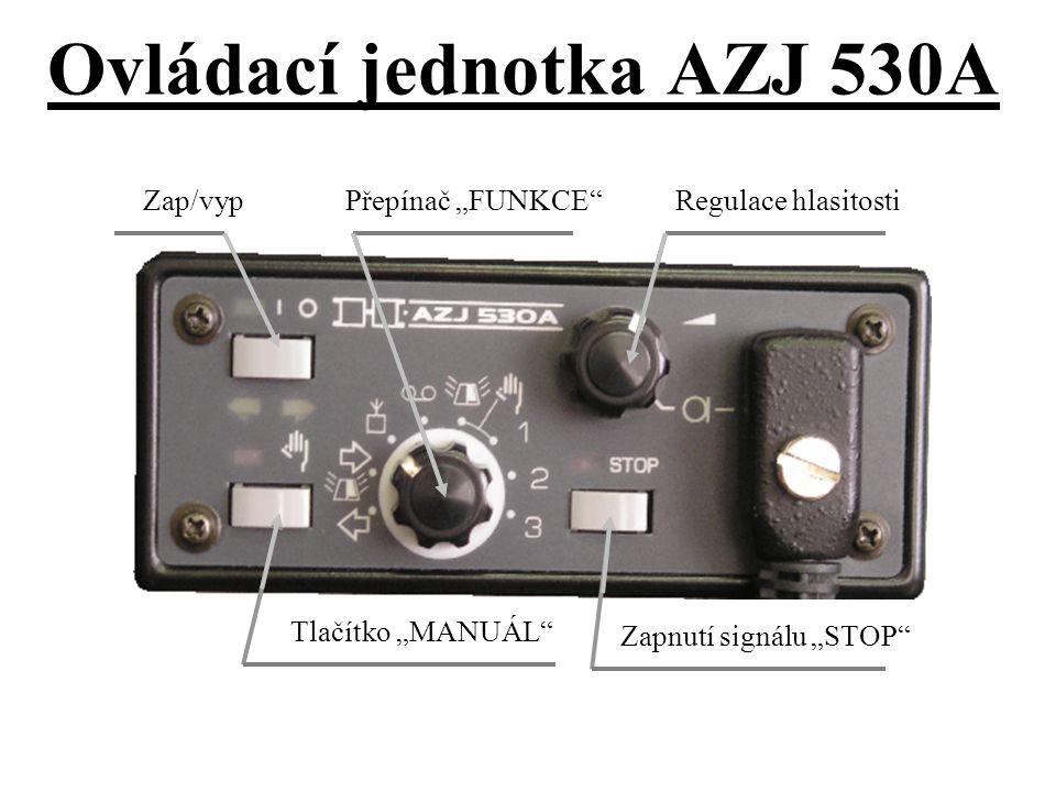 Ovládací jednotka AZJ 530A