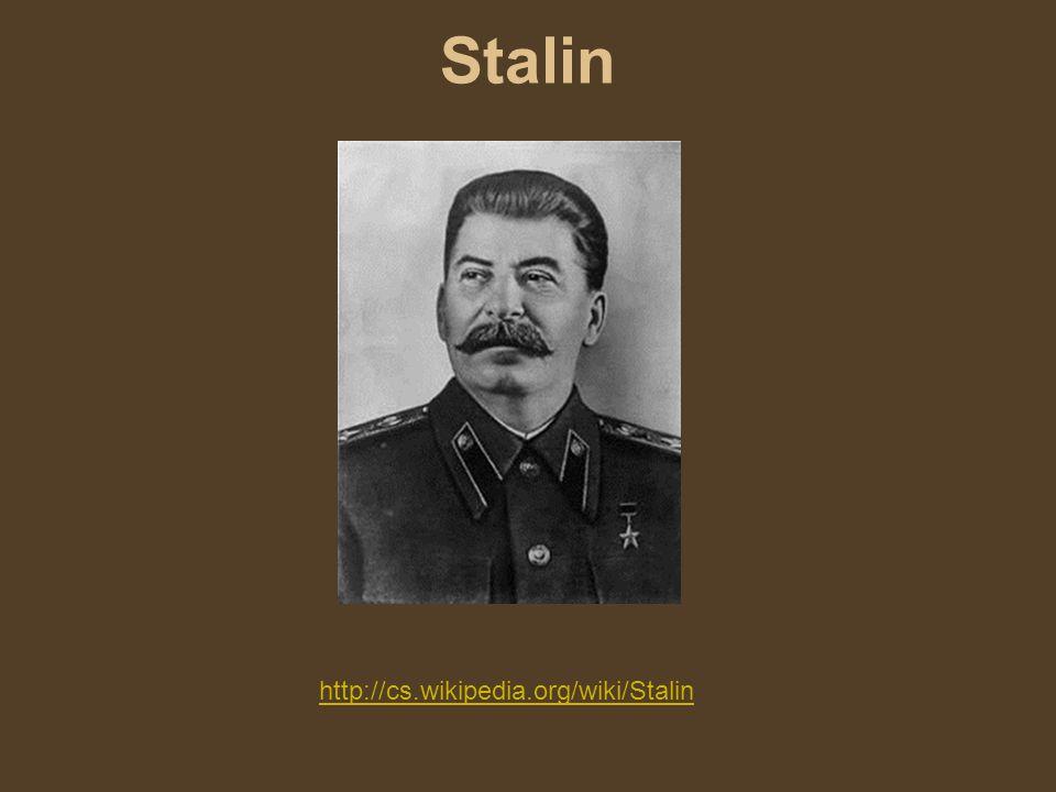 Stalin http://cs.wikipedia.org/wiki/Stalin