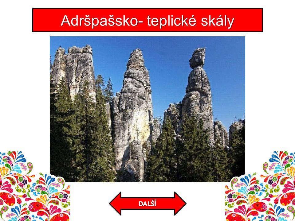 Adršpašsko- teplické skály