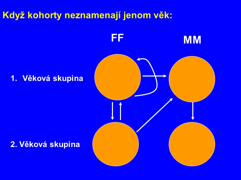 FF MM Když kohorty neznamenají jenom věk: Věková skupina