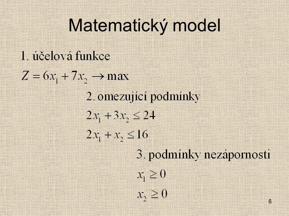 Matematický model