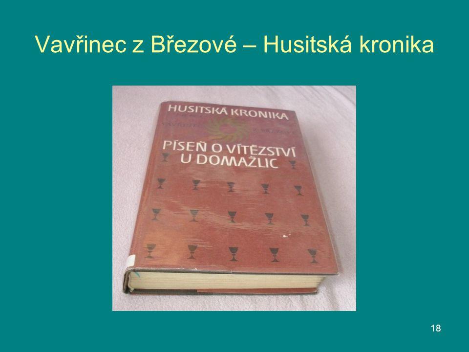Vavřinec z Březové – Husitská kronika