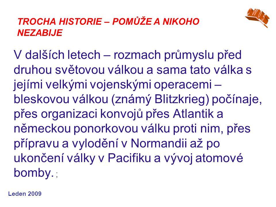 CW05 TROCHA HISTORIE – POMŮŽE A NIKOHO NEZABIJE.