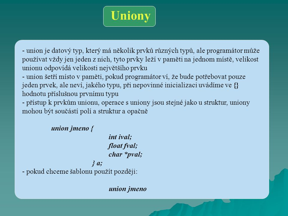 Uniony