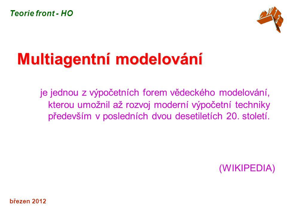 Multiagentní modelování