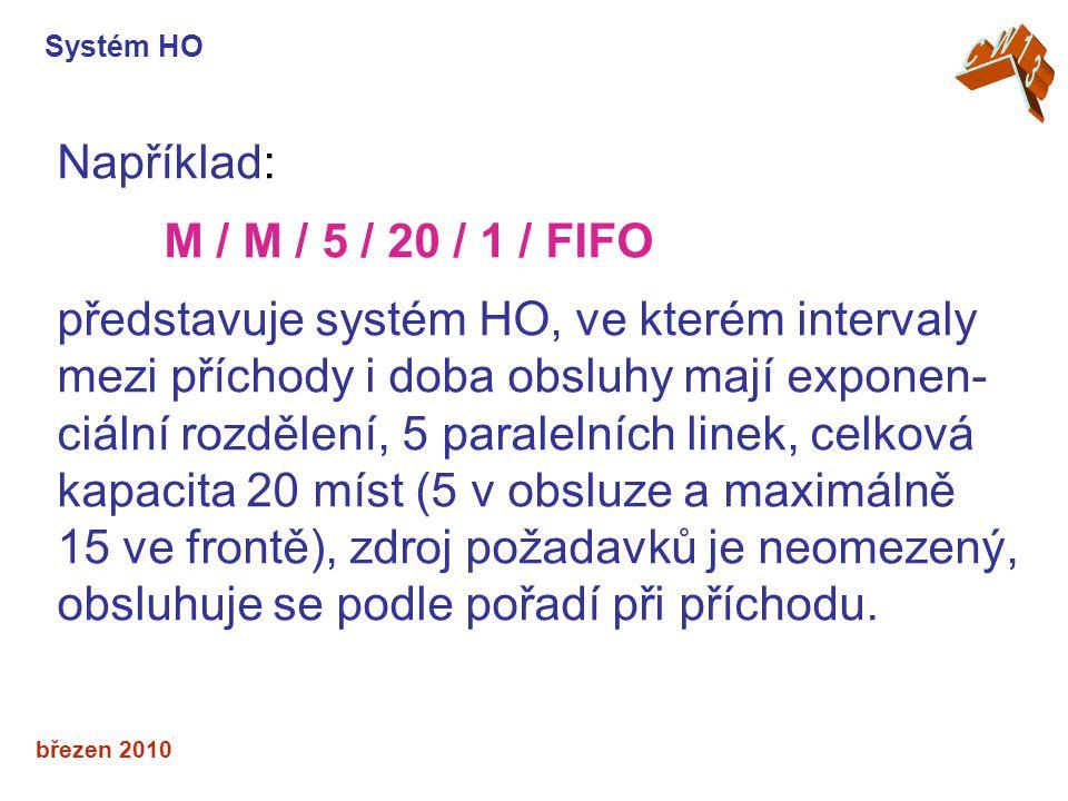 představuje systém HO, ve kterém intervaly