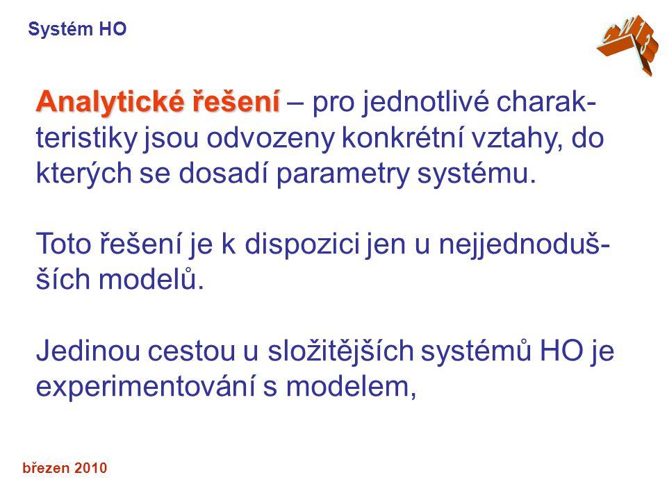 Toto řešení je k dispozici jen u nejjednoduš-ších modelů.