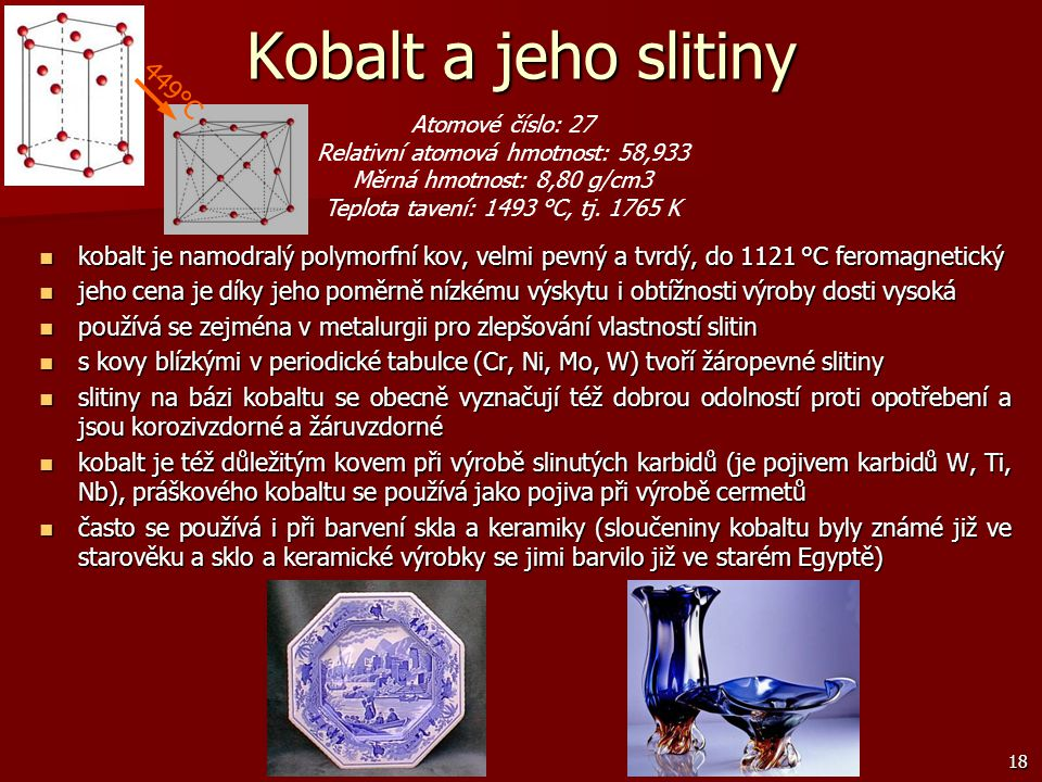 Relativní atomová hmotnost: 58,933