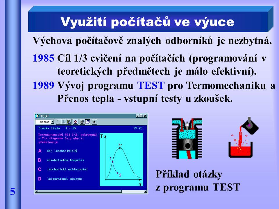 Využití počítačů ve výuce