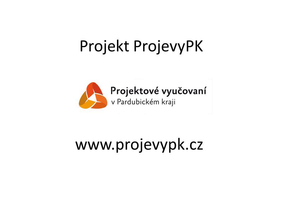 Projekt ProjevyPK www.projevypk.cz