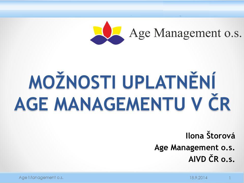 Možnosti uplatnění Age Managementu v ČR