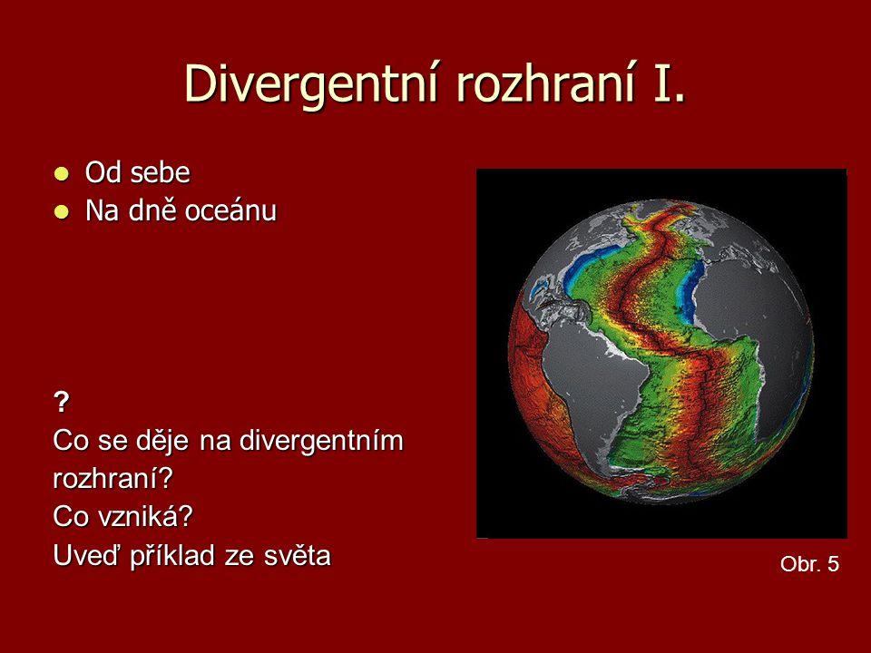 Divergentní rozhraní I.