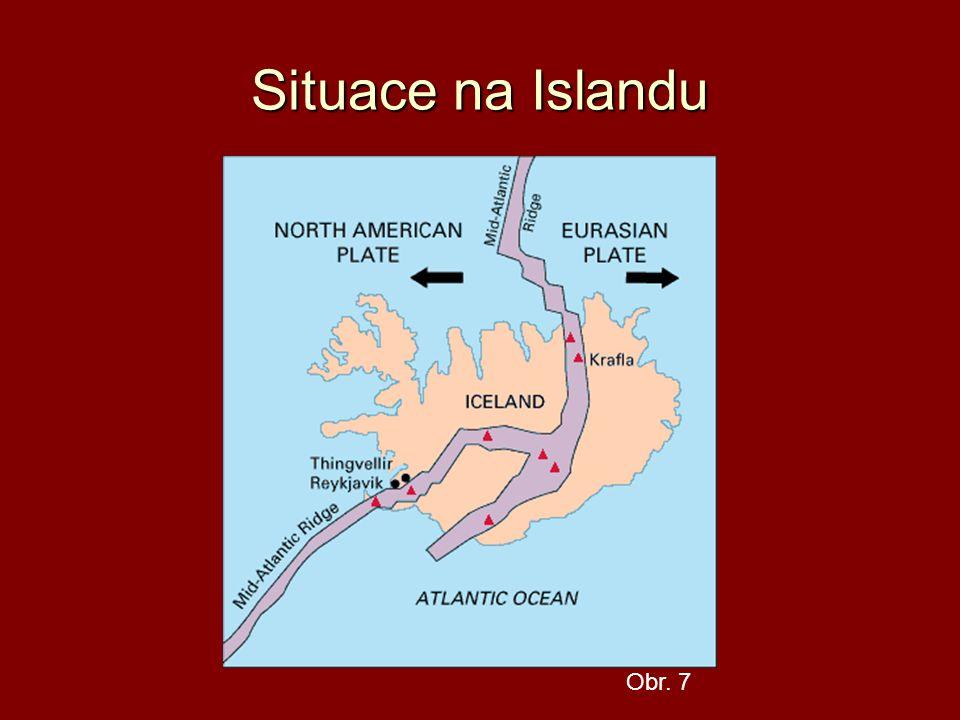 Situace na Islandu Obr. 7