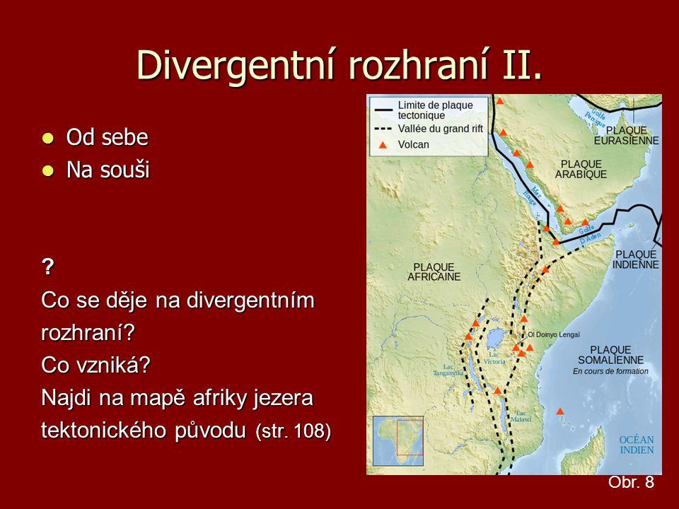 Divergentní rozhraní II.