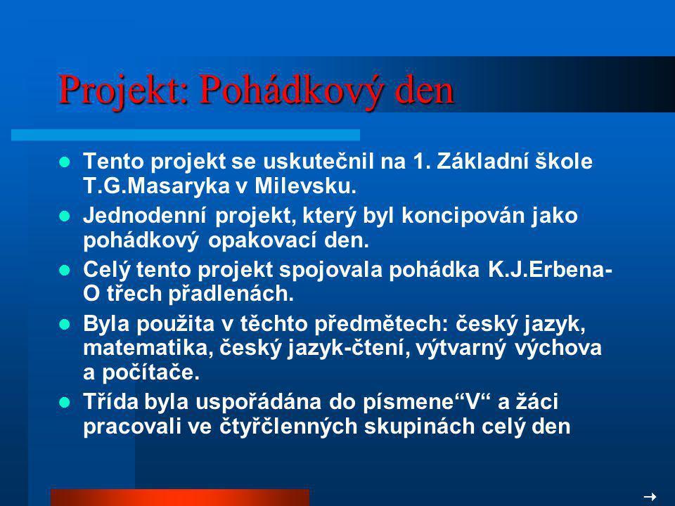 Projekt: Pohádkový den