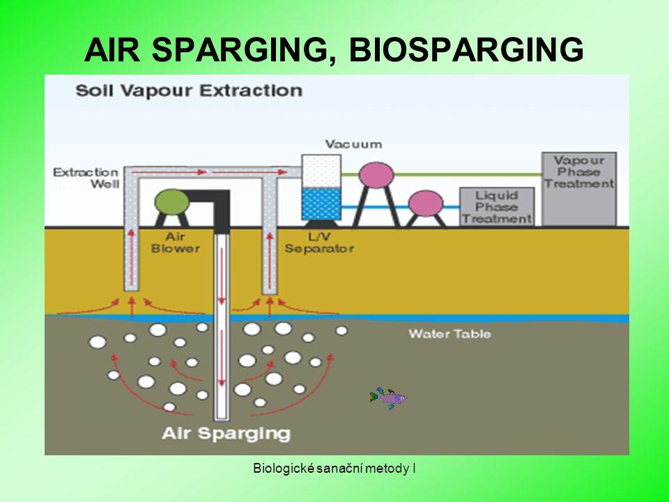 AIR SPARGING, BIOSPARGING