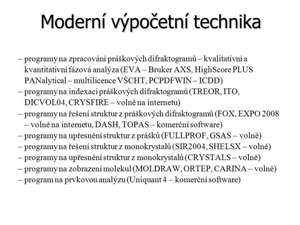 Moderní výpočetní technika