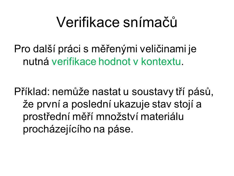 Verifikace snímačů