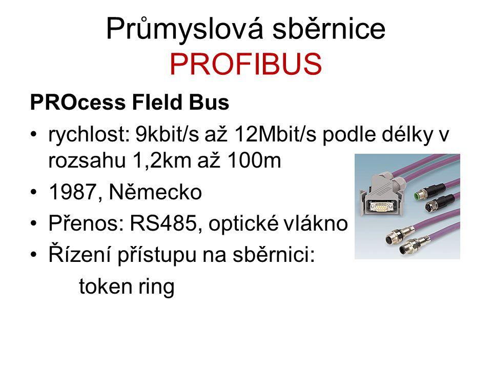 Průmyslová sběrnice PROFIBUS