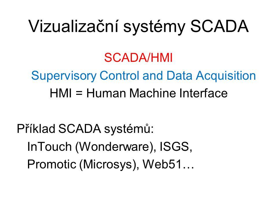 Vizualizační systémy SCADA