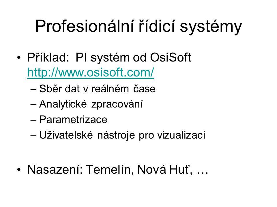 Profesionální řídicí systémy