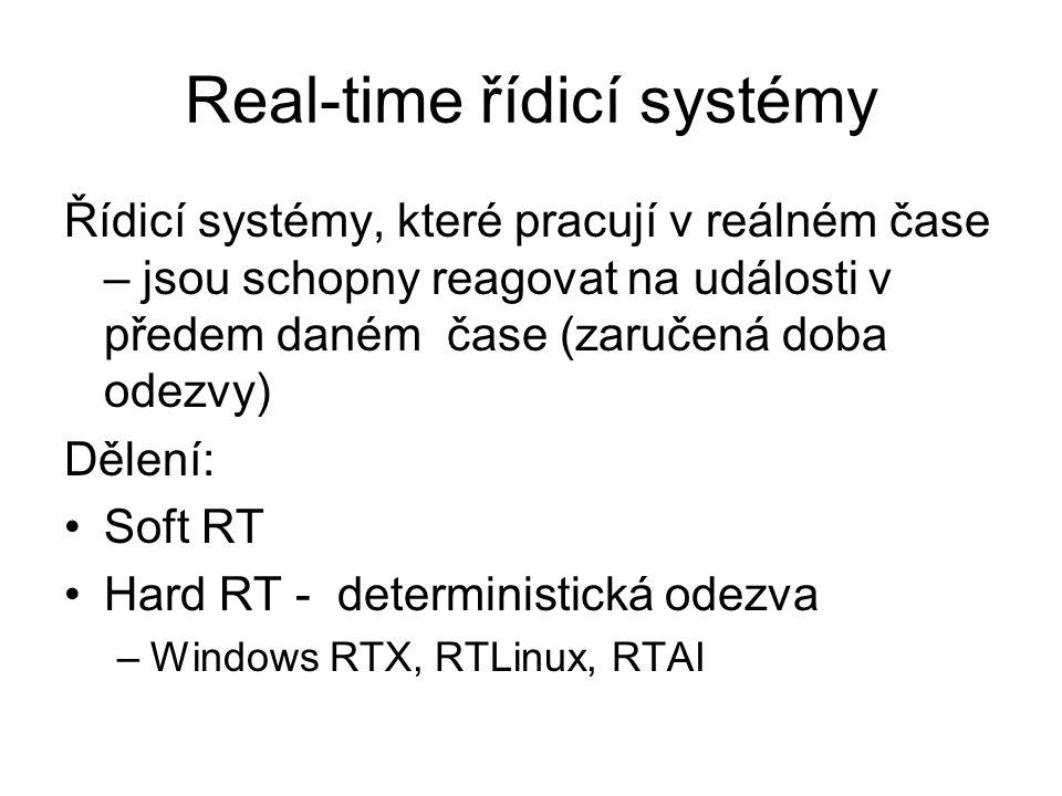Real-time řídicí systémy