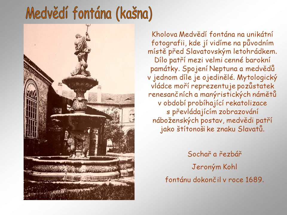 Medvědí fontána (kašna)