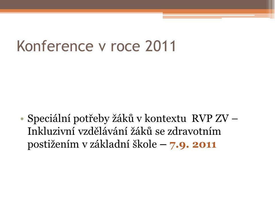 Konference v roce 2011