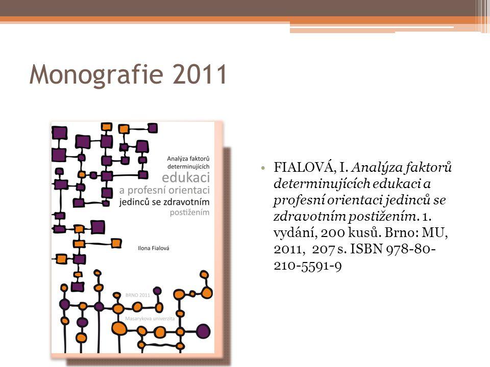 Monografie 2011