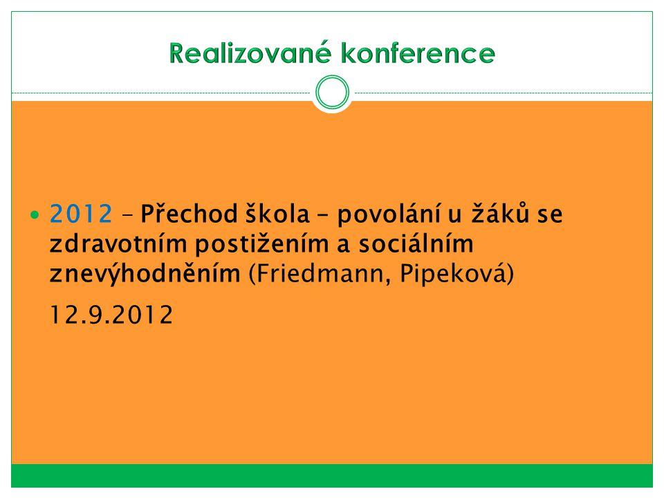 Realizované konference