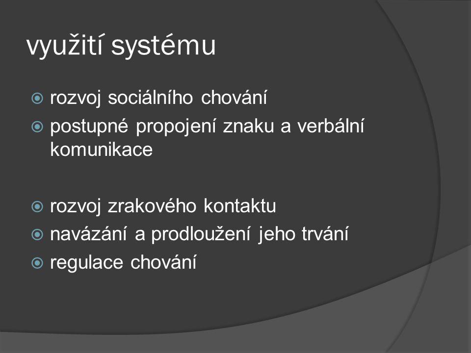 využití systému rozvoj sociálního chování