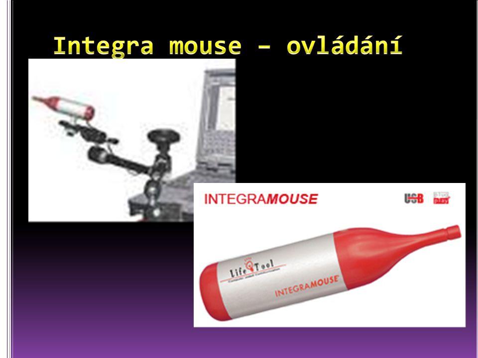 Integra mouse – ovládání ústy