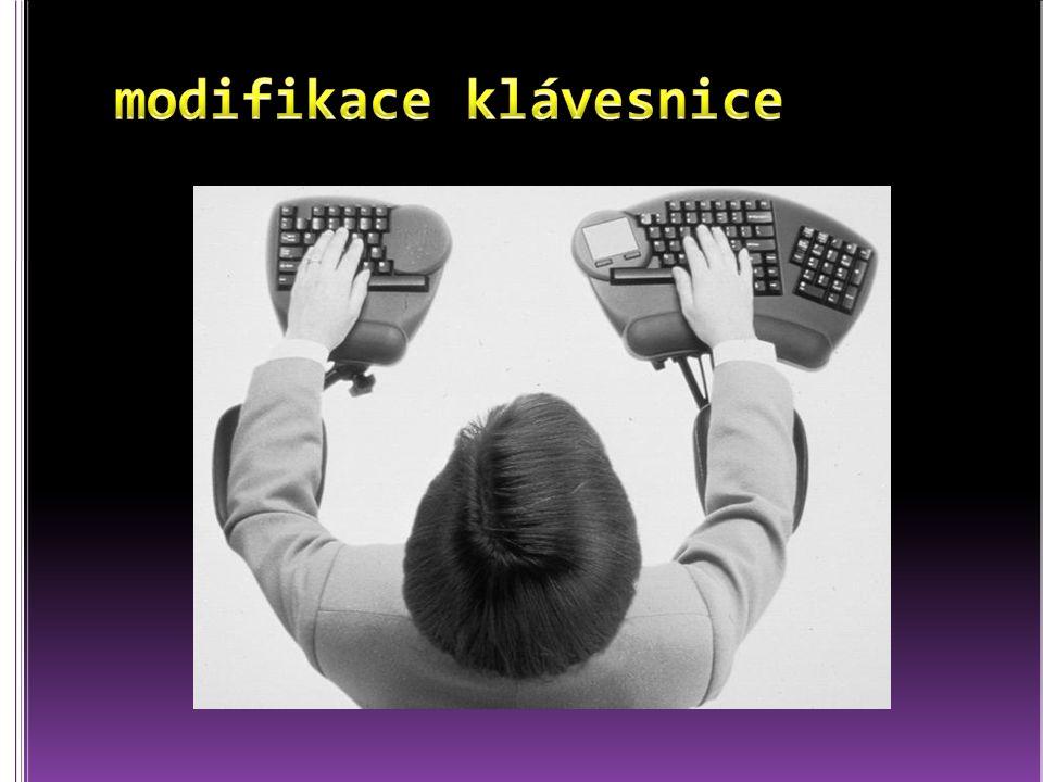 modifikace klávesnice