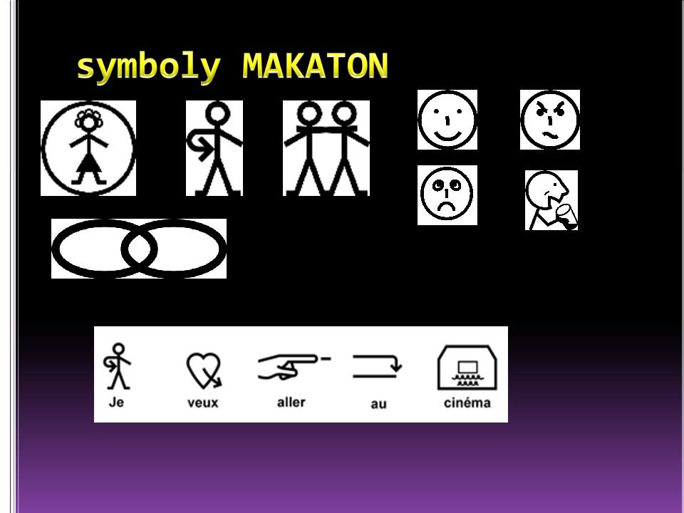 symboly MAKATON
