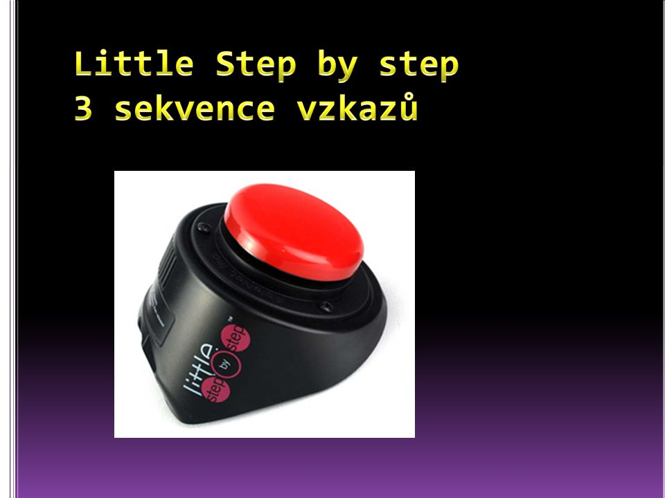 Little Step by step 3 sekvence vzkazů